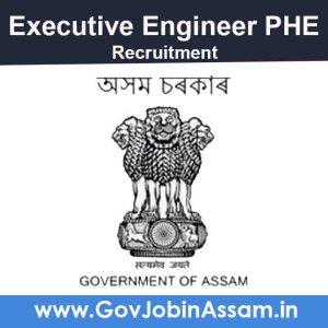 Executive Engineer PHE Bongaigaon Recruitment 2021