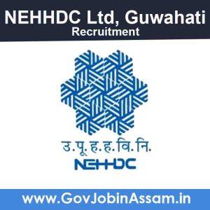 NEHHDC Ltd Guwahati Recruitment 2021