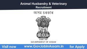 Animal Husbandry & Veterinary Recruitment 2021