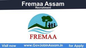 FREMAA Recruitment 2021