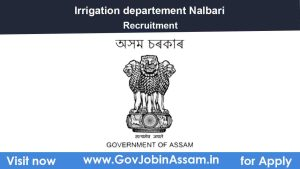 Irrigation Nalbari Recruitment