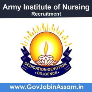 Army Institute Of Nursing Guwahati Recruitment 2021