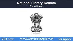 National Library Kolkata Recruitment 2021
