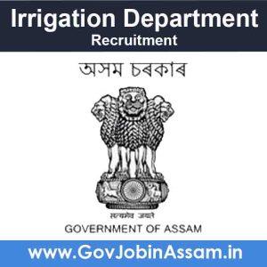 Irrigation Department Karbi Anglong Recruitment 2021