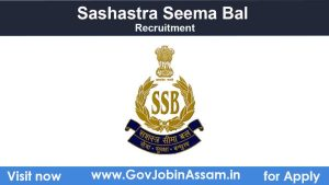 Sashastra Seema Bal SI Recruitment 2021