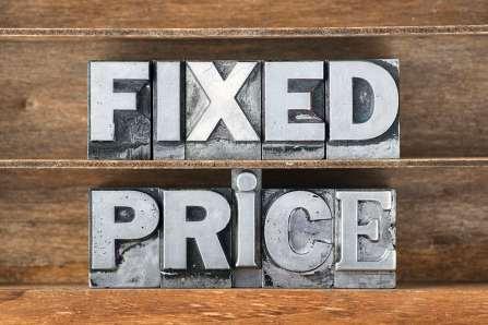 fixed price