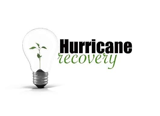 hurricane recovery projects