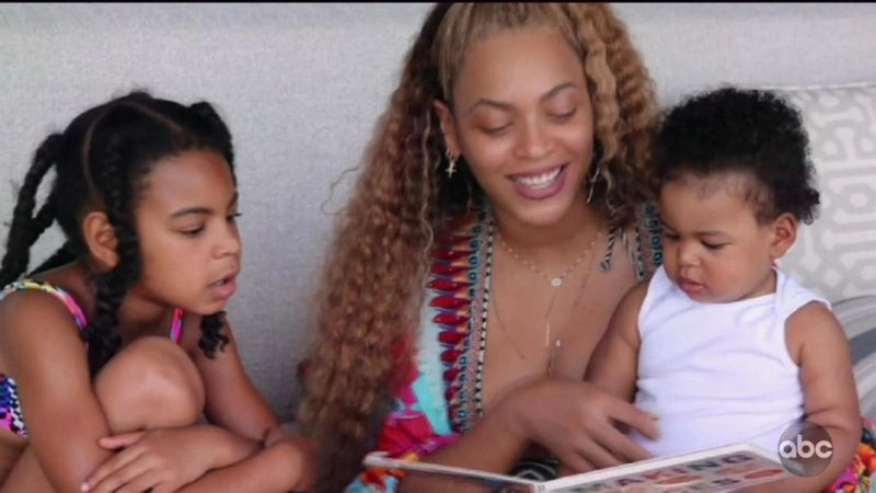 Beyonce uživa v krogu družine