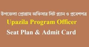 Upazila Program Officer BNFE Seat Plan