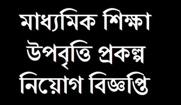 Secondary Education Project Job Circular