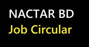 NACTAR BD Job Circular