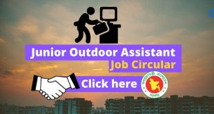 Mongla Port Junior Outdoor Assistant Govt Job Circular