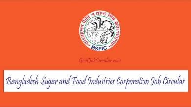 BSFIC Job Circular 2021