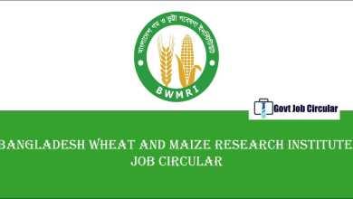 BWMRI Job Circular