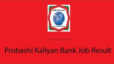 PKB MCQ Results, PKB Written Exam Date, Job Exam Result, Probashi Kallyan Bank Job Result, PKB Job Result, PKB VIVA Date, PKB Written Result, Job Result, Job Results