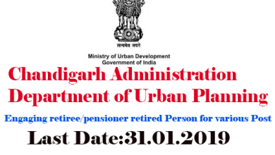 Photo of Vacancy in Department of Urban Planning for engaging retiree/pensioner