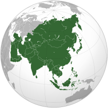 Countries in Asia Continent