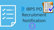 IBPS PO 2019 Recruitment -PO Notification 2019,Exam Dates