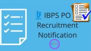 IBPS PO 2019 Recruitment -PO Notification 2019,Exam Dates