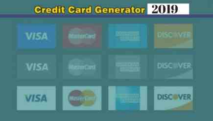 Examples of Rich People Credit Card Number Updated list. Credit Card Generator 2019