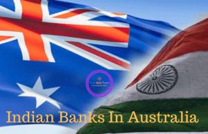 Indian banks in Australia