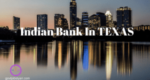 Indian Banks In Texas, USA
