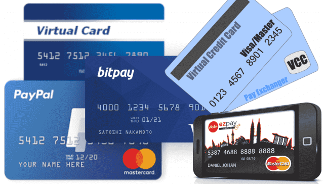 virtual credit card number