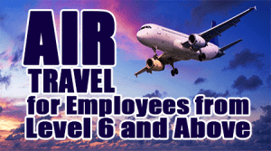 Air-Travel-is-Allowed-for-CG-Employees-from-Level-6-and-Above