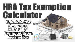HRA Tax Exemption Calculator