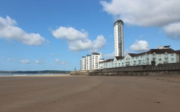 Wales;s talent building (2020) on the Gower Peninsula, Swansea, Mumbles