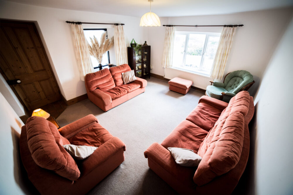 Hill House Self catering holiday cottage sitting room 2