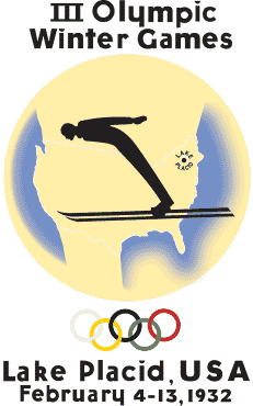 レークプラシッド五輪 ロゴ