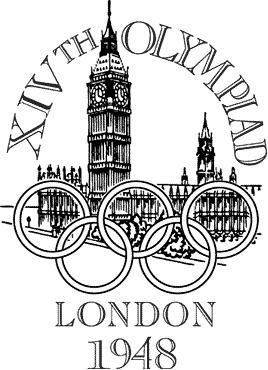 1948 ロンドン五輪 ロゴ
