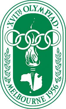 1956 メルボルン/ストックホルム五輪 ロゴ