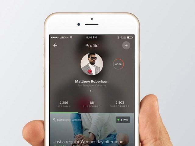 Stream App Profile