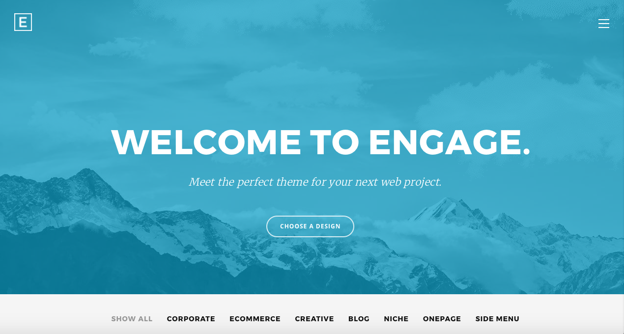 Engage html template