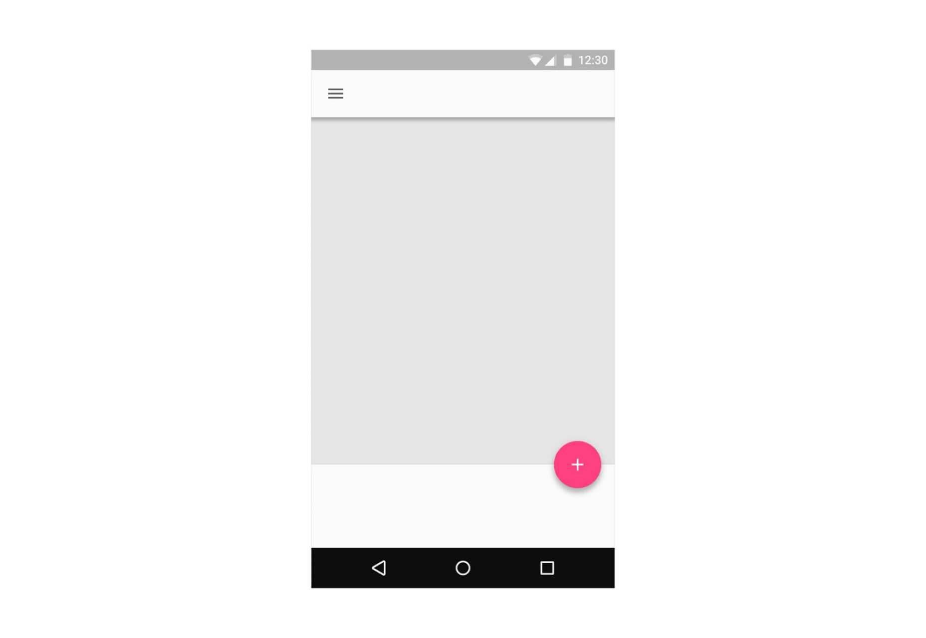 Floating Action Button in Android app