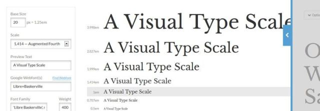 Type Scale