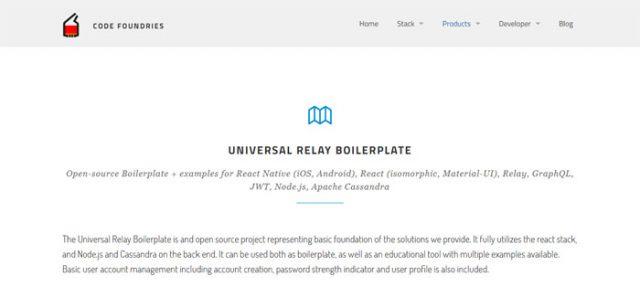 Universal-Relay-Boilerplate