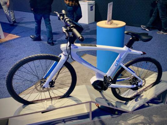 CES 2019で展示されたコネクテッド自転車