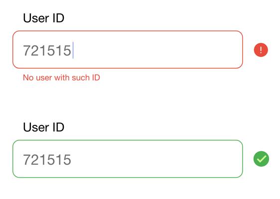User ID