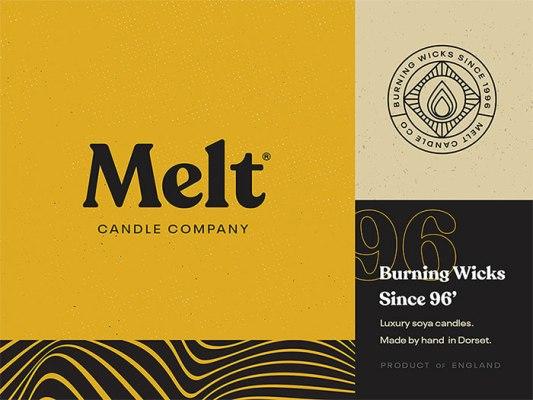 Melt Candle Co.のロゴタイプ