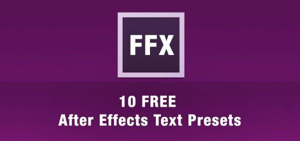 After Effect Preset