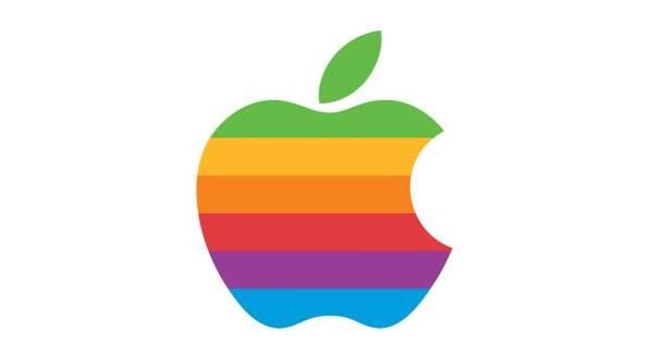 1976〜1998年に使われた レインボーなロゴ