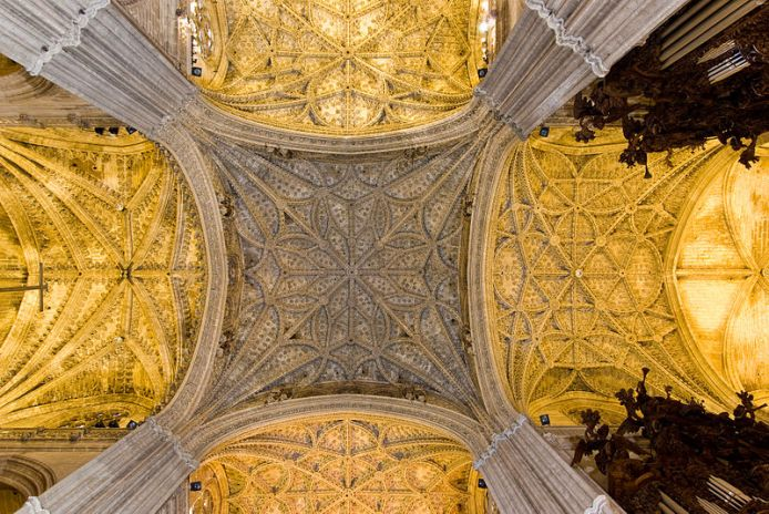 bóveda catedral