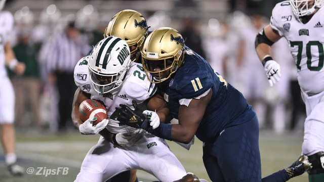 Akron Closes 2019 Season with 52-3 Loss to Ohio - University of ...