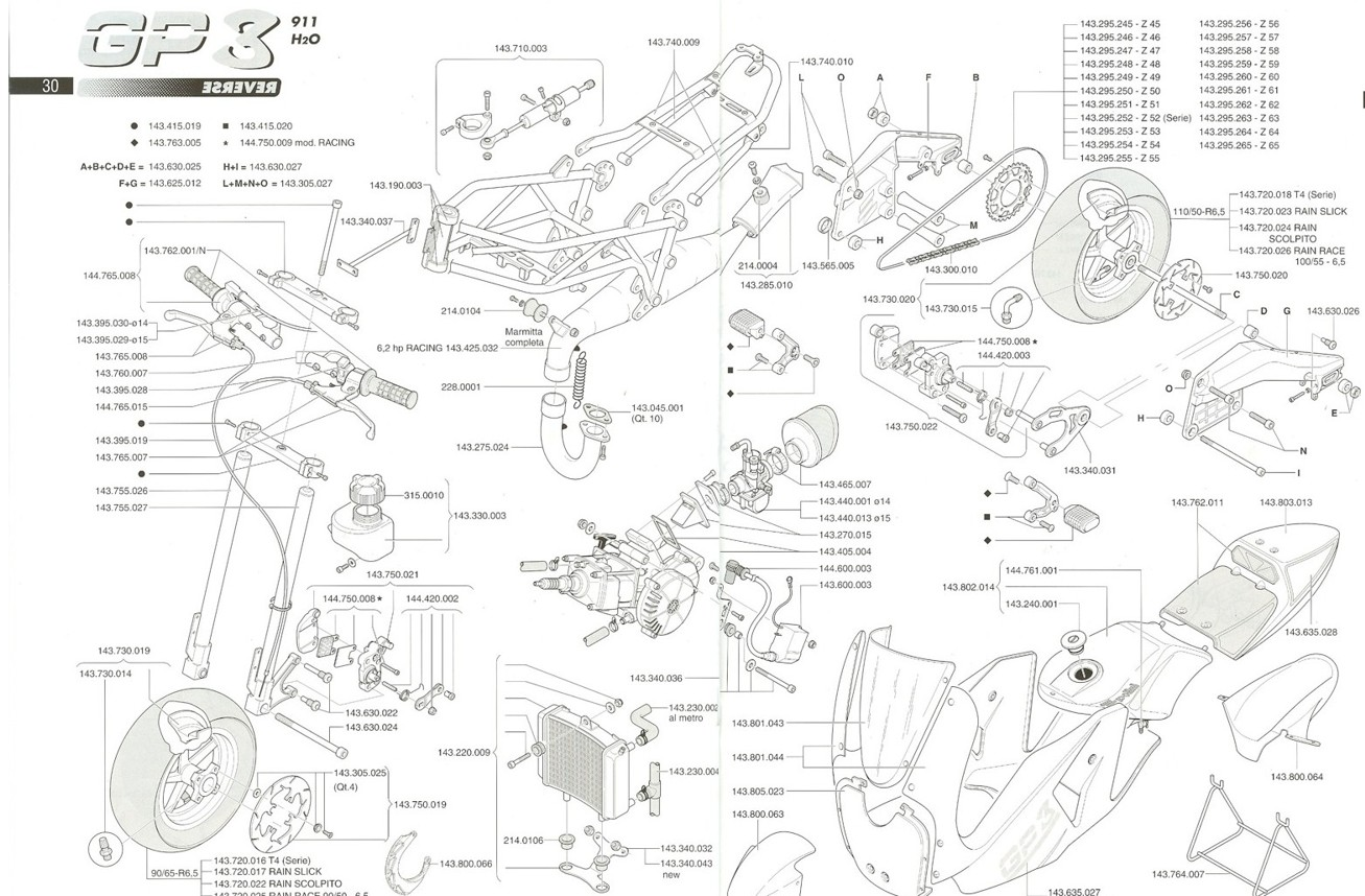 Gp3 Reverse Engine Exploded Diagram