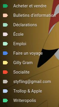 Spoiler alert: my Gmail filters!