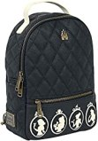 Disney Loungefly Silhouette Faux Leather Womens Mini Backpack