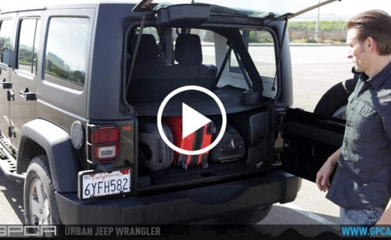 GPCA Jeep Wrangler Ultimate Grab Handle And Trunk Cargo